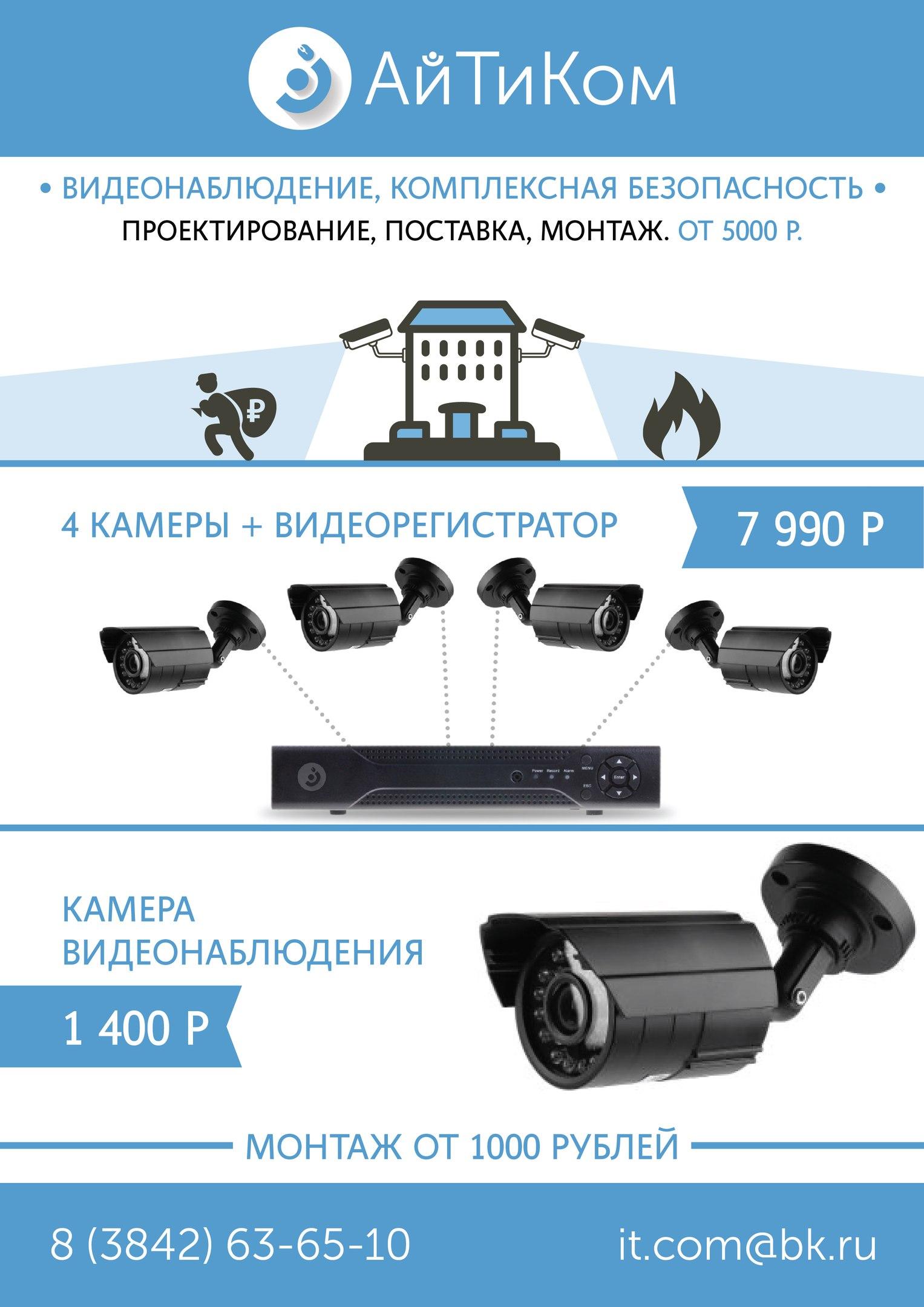 Установка камер видеонаблюдения своими руками